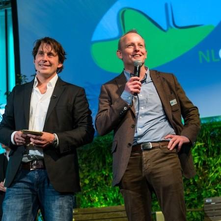 Lodewijk Hoekstra en Nico Wissing, oprichters van NL Greenlabel