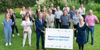 Een groener Nederland begint in je eigen tuin